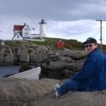 photographer at Cape Neddick Lighthouse (York, Maine)