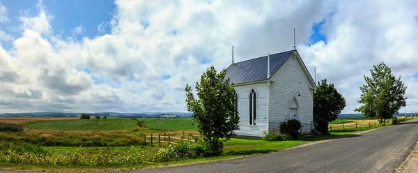 Church in Grand Pre Nova Scotia
